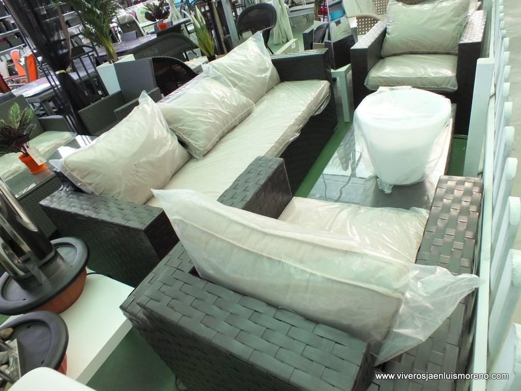 Nuevos conjuntos para terraza y jard n viveros luis moreno for Conjuntos de terraza baratos