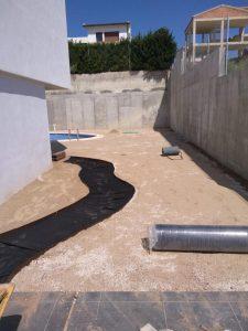 arreglo de terraza y decoración