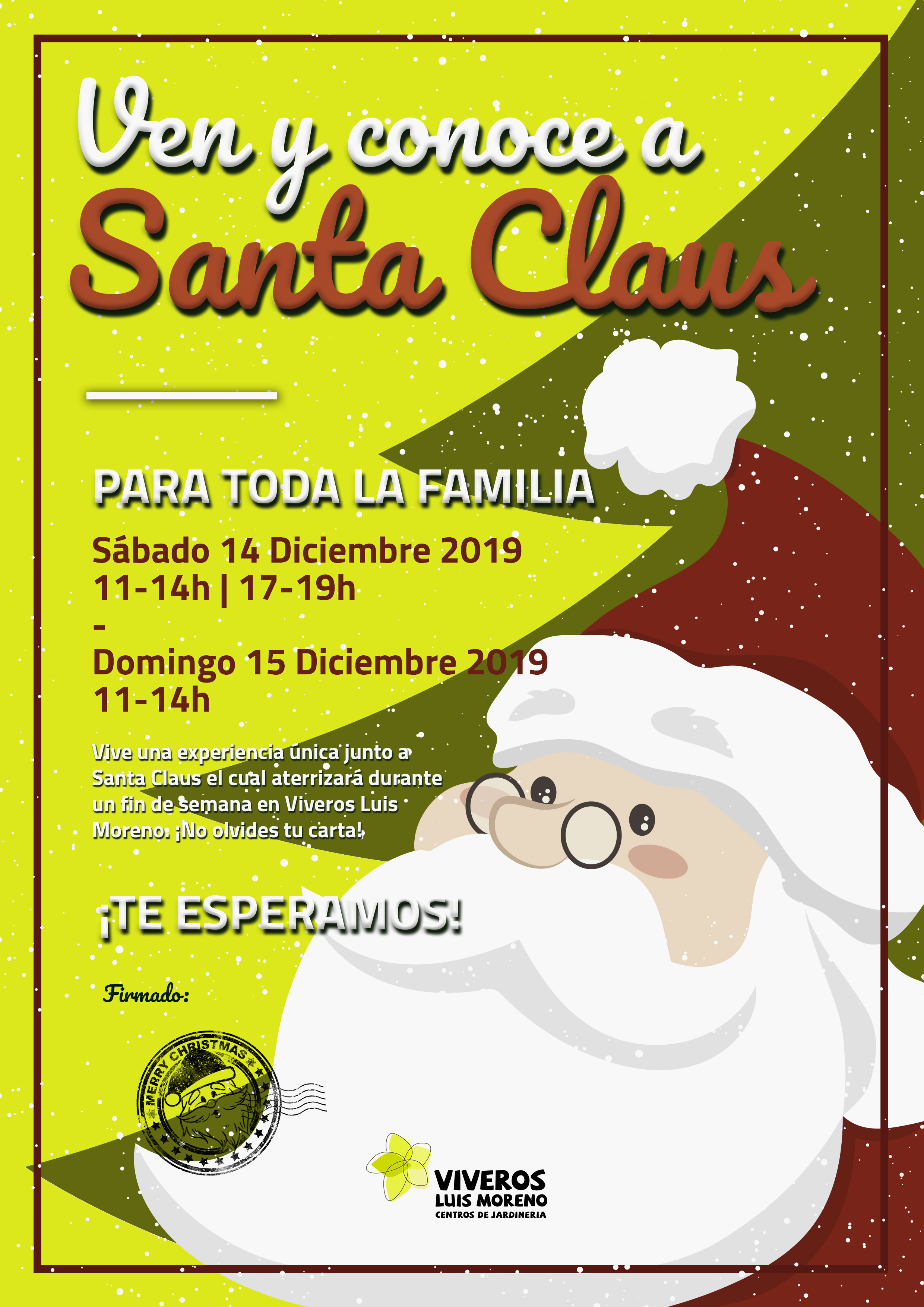 Cartel SANTA CLAUS
